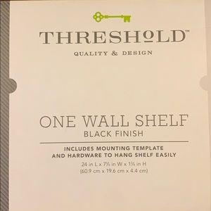 "Threshold One Wall Shelf 24"""